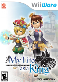 Final Fantasy Crystal Chronicles: My Life as a King - Fanart - Box - Front