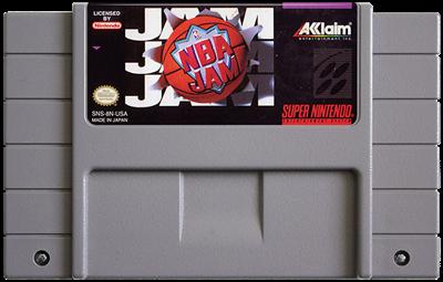 NBA Jam - Fanart - Cart - Front