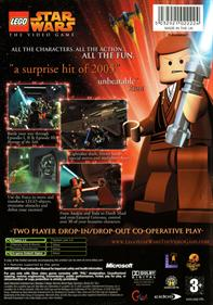 LEGO Star Wars: The Video Game - Box - Back