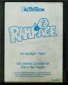 Rampage - Cart - Front