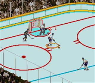 Brett Hull Hockey 95 - Screenshot - Gameplay
