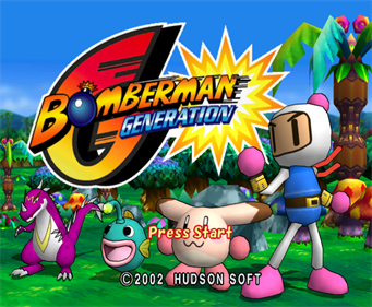 Bomberman Generation - Screenshot - Game Title