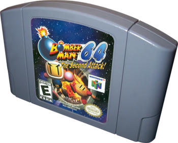 Bomberman 64: The Second Attack! - Cart - 3D