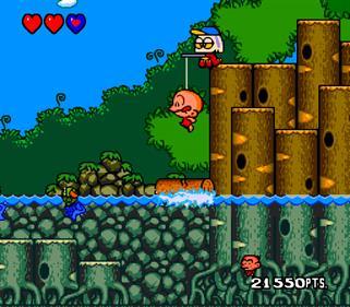 Bonk's Revenge - Screenshot - Gameplay