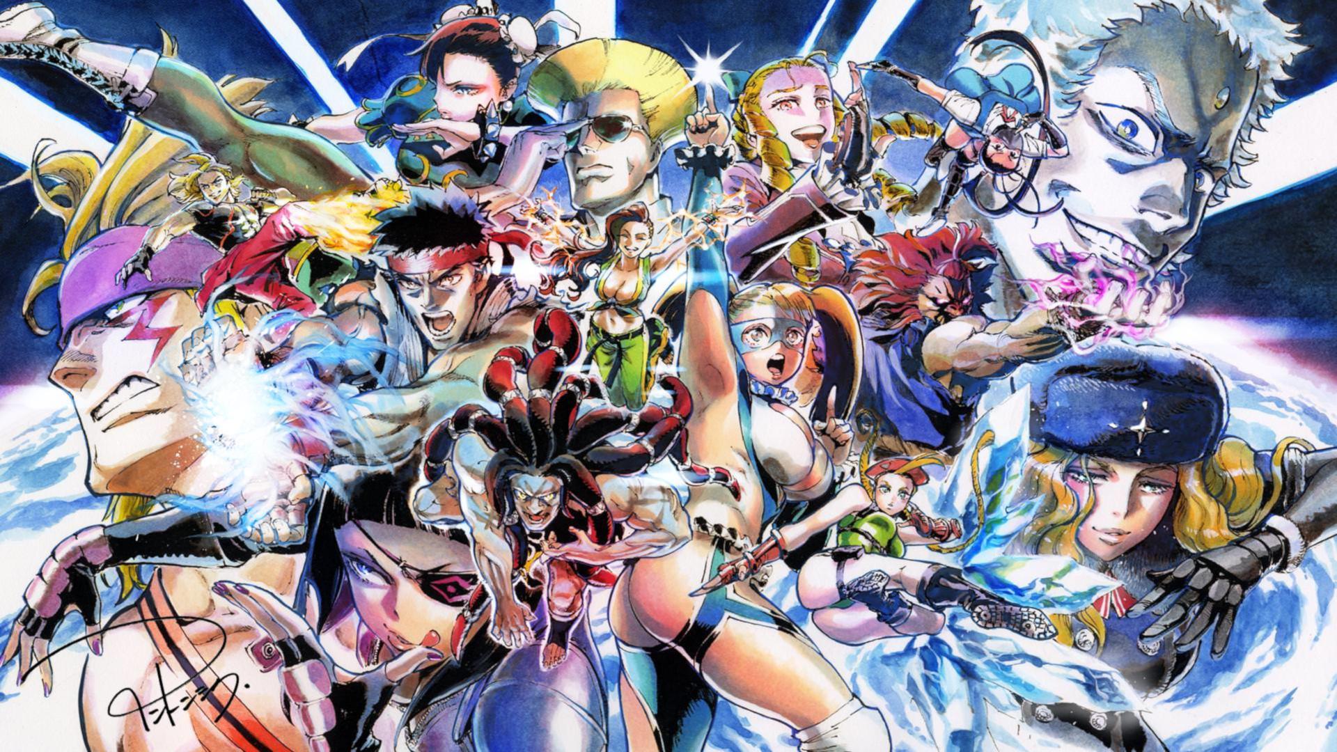 Street Fighter V Arcade Edition Details Launchbox Games Database