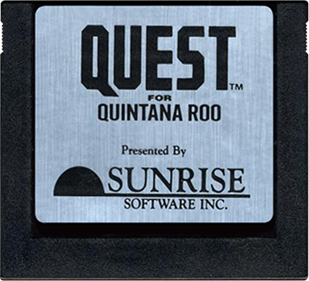 Quest for Quintana Roo - Cart - Front