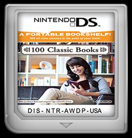 100 Classic Books - Fanart - Cart - Front