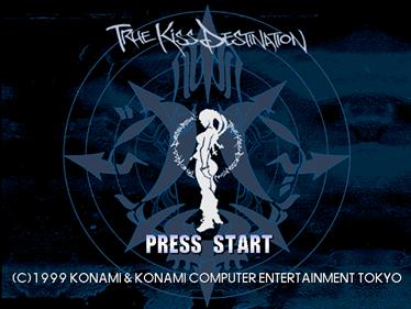 Dancing Stage featuring True Kiss Destination  - Screenshot - Game Title