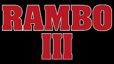 Rambo III - Clear Logo