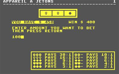 Appareil a Jetons - Screenshot - Gameplay