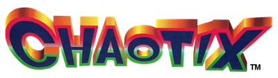 Knuckles' Chaotix - Clear Logo