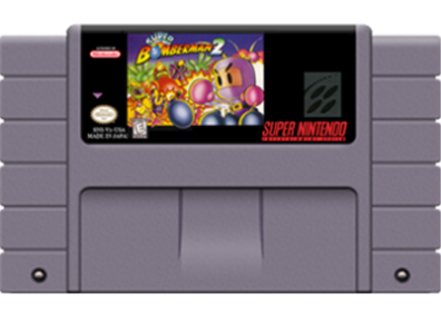 Super Bomberman 2 - Cart - Front