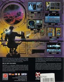 Overlord (Virgin Mastertronic) - Box - Back