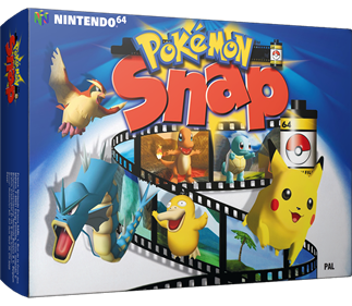 Pokémon Snap - Box - 3D