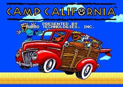 Camp California - Screenshot - Game Title