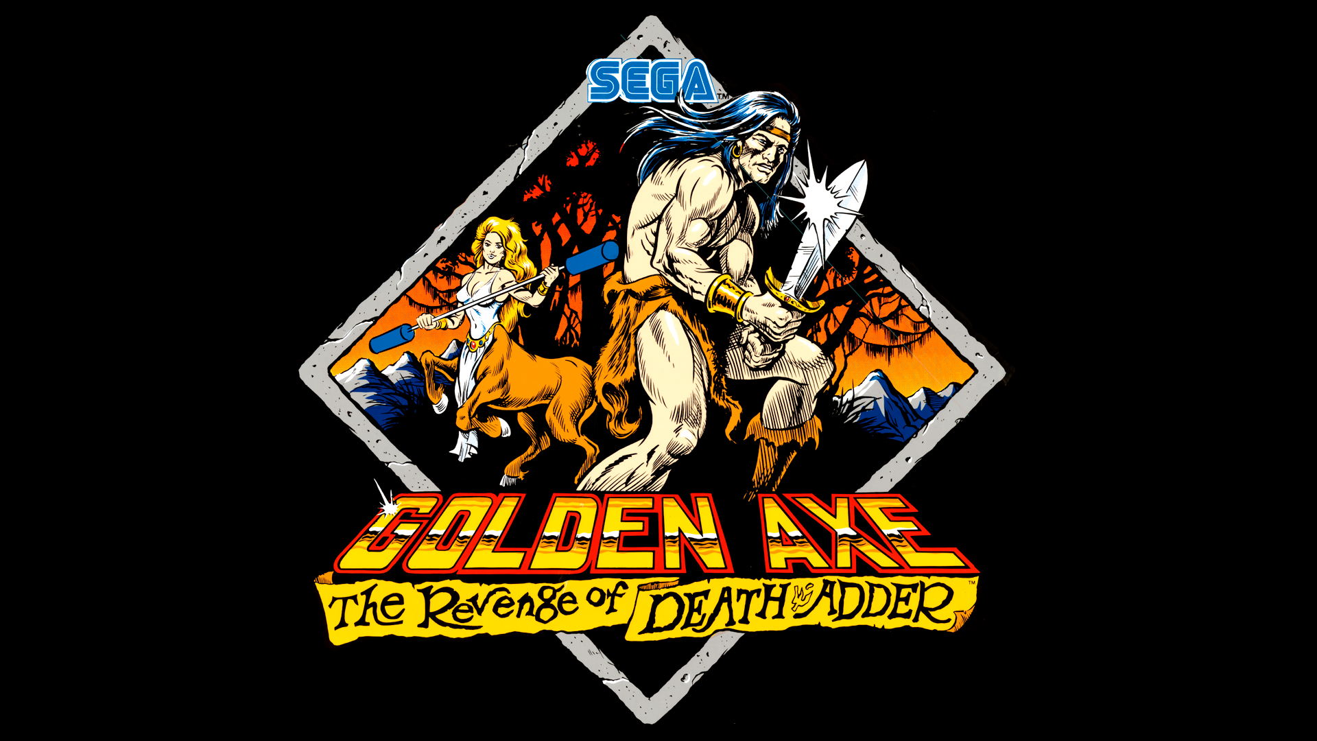 Golden Axe The Revenge Of Death Adder Details Launchbox
