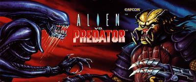 Alien vs. Predator - Arcade - Marquee