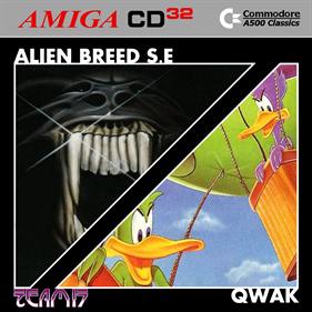 Alien Breed Special Edition & Qwak - Fanart - Box - Front