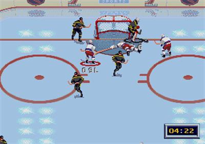 NHL All-Star Hockey '95 - Screenshot - Gameplay