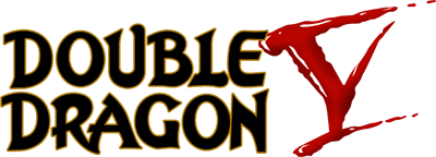 Double Dragon V: The Shadow Falls - Clear Logo