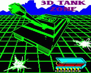 3-D Tank Zone - Screenshot - Game Title