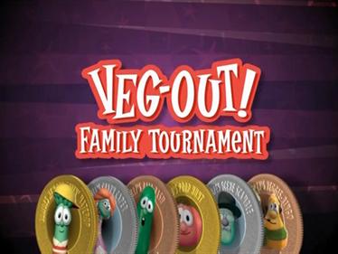 Veggie Tales: Veg-Out! Family Tournament - Screenshot - Game Title