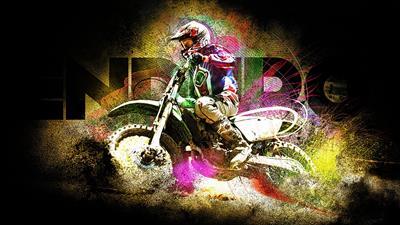 Enduro Racer - Fanart - Background
