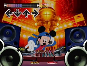 Dance Dance Revolution: Disney Mix - Screenshot - Gameplay