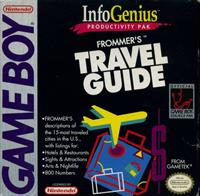 InfoGenius Productivity Pak: Frommer's Travel Guide