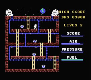 Astro Plumber - Screenshot - Gameplay