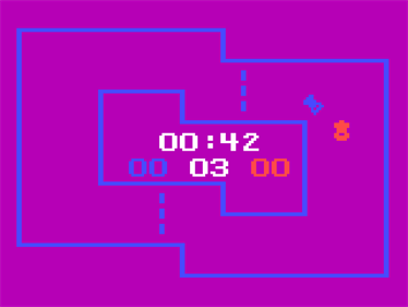 Race / Spin-Out / Cryptogram - Screenshot - Gameplay