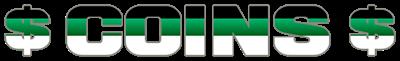Coins - Clear Logo