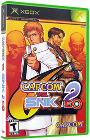 Capcom vs. SNK 2 EO - Box - 3D