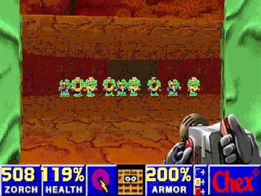 Chex Quest - Screenshot - Gameplay
