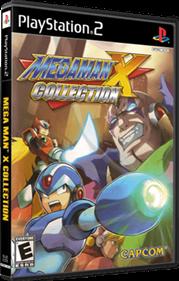 Mega Man X Collection - Box - 3D