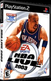 NBA Live 2003 - Box - 3D
