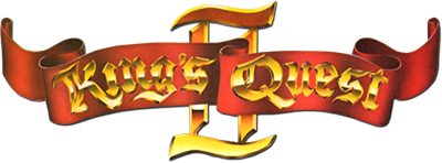 King's Quest II: Romancing the Throne - Clear Logo