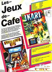 Ikari Warriors (Europe) - Advertisement Flyer - Front