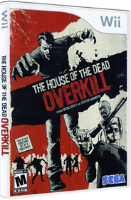 The House of the Dead: Overkill - Box - 3D