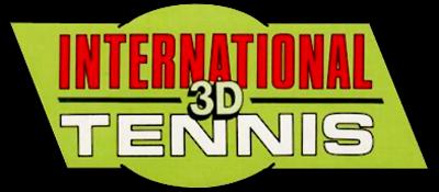 International 3D Tennis - Clear Logo