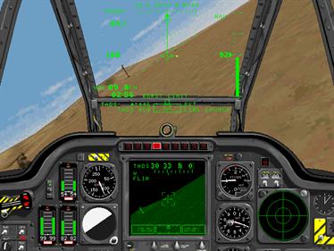 Jane's Combat Simulations: AH-64D Longbow - Screenshot - Gameplay