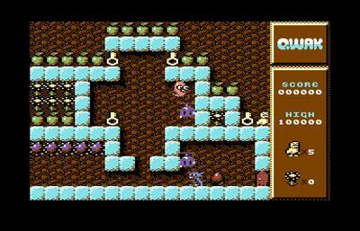 QWAK 128 - Screenshot - Gameplay
