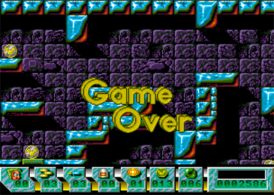 Action Cat - Screenshot - Game Over