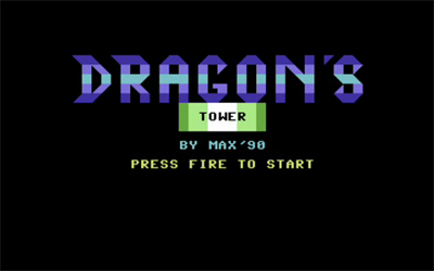 Dragon's Tower - Screenshot - Game Title