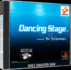 Dancing Stage featuring True Kiss Destination  - Box - 3D