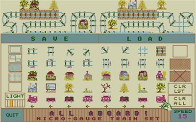 All Aboard! Microgauge Train Set - Screenshot - Gameplay