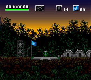 Choplifter III: Rescue-Survive - Screenshot - Gameplay