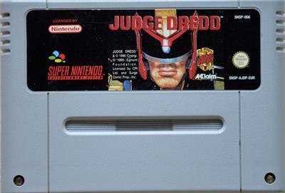 Judge Dredd - Cart - Front