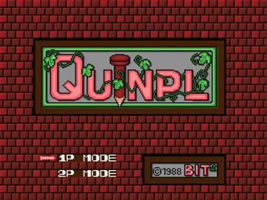 Quinpl - Screenshot - Game Title