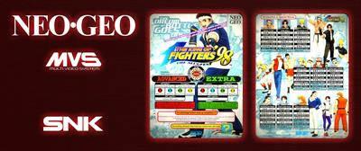The King of Fighters '98: The Slugfest - Arcade - Marquee